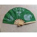 éventail Lyon vert