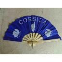 éventail Corsica bleu foncé